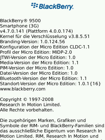 OS 4.7.0.141 for the Storm 9500
