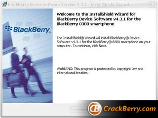 BlackBerry OS 4.3
