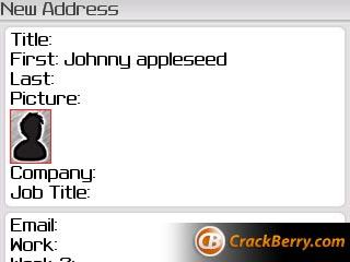 BlackBerry Curve OS 4.3