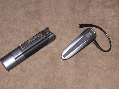 BlackBerry HS-655 Bluetooth Headset Holster