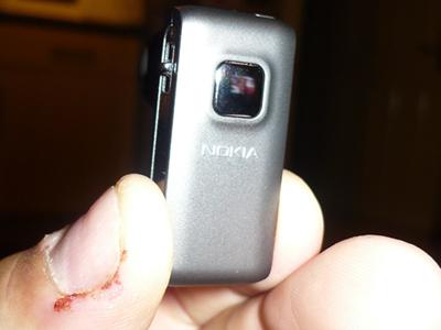 Nokia BH-800 - front