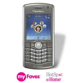 T-Mobile BlackBerry Pearl 8120
