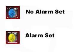 Alarm Set Not Set