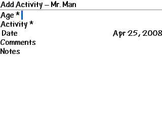 Activity Details