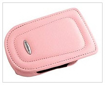 BlackBerry Leather Pouch Pink