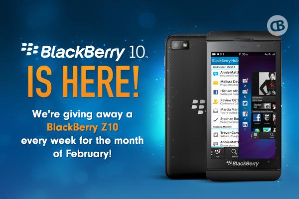 Win a FREE BlackBerry Z10 from CrackBerry.com!