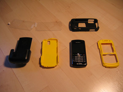 OtterBox Defender Case for the BlackBerry Pearl 8100