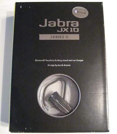 Jabra JX10 Series II - box front