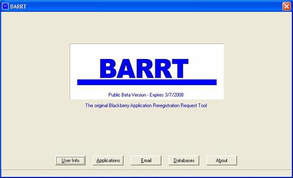 BARRT Public Beta