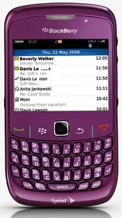 Sprint BlackBerry Curve 8530