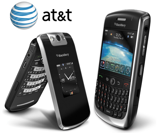 Curve 8900 & Pearl Flip 8210 Coming to AT&T