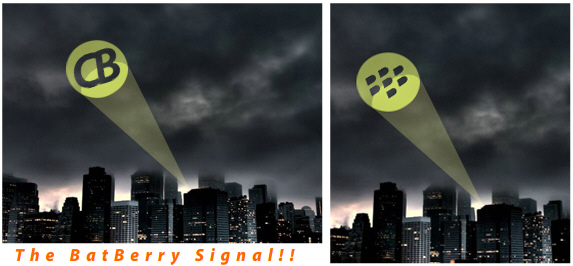The BatBerry Signal