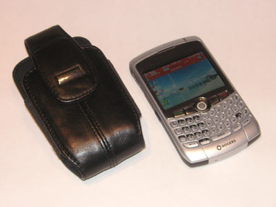 BlackBerry Leather Holster with Curve