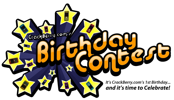 CrackBerry.com's Birthday Contest!