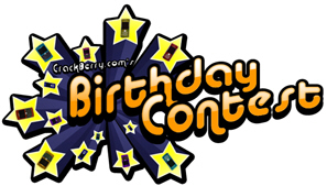 CrackBerry.com Birthday Contest!