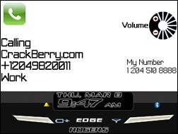iBerry 8700 theme for BlackBerry