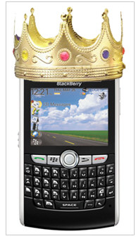 BlackBerry Still King