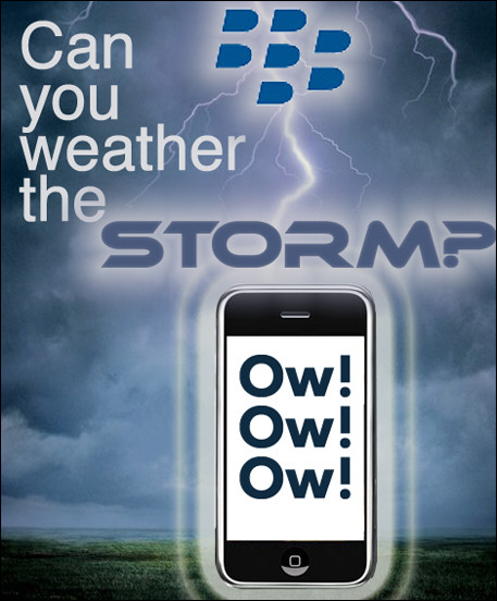 The BlackBerry Storm is Coming...