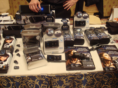 Bluetooth Accessories Galore at CTIA Wireless 2008