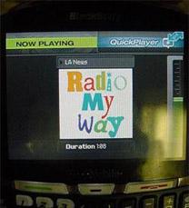 blackberry quickplayer