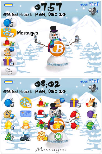 Free CrackBerry.com Holiday Theme!
