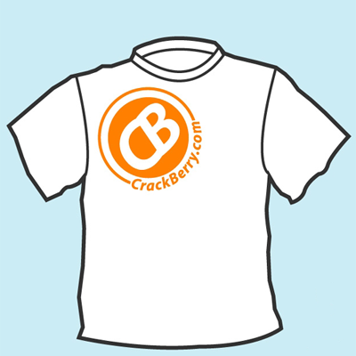 CrackBerry.com T-Shirt Front