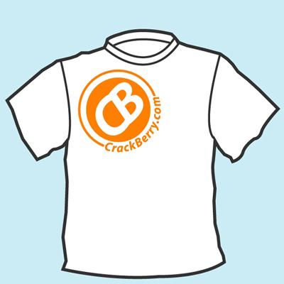 CrackBerry.com T-Shirt Front