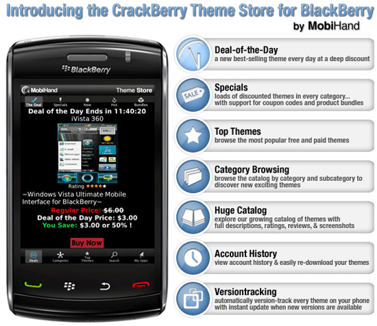 CrackBerry Theme Store