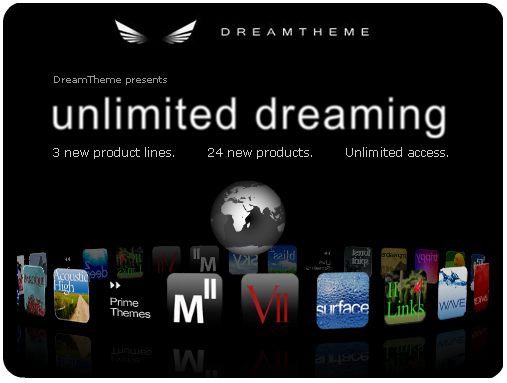 DreamTheme Introduces New Products...