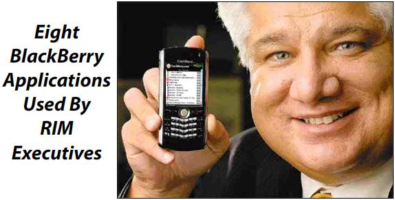 Eight BlackBerry Apps