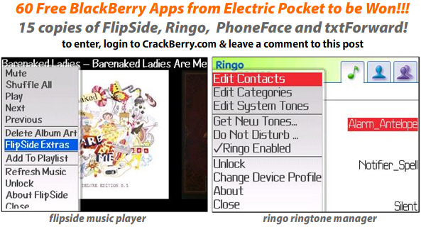 Contest! 60 Free Apps from Electric Pocket!