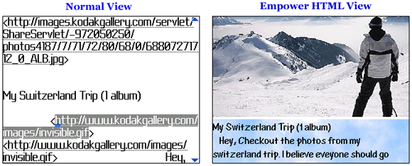 Empower HTML Email Viewer