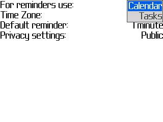 Follow Up Calendar or Tasks