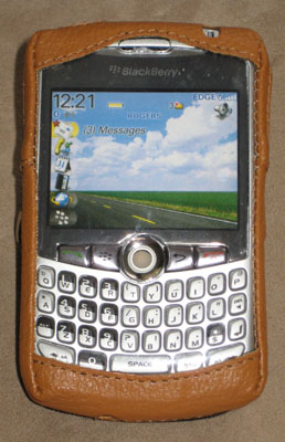 SPE GloveFit Case for BlackBerry Curve