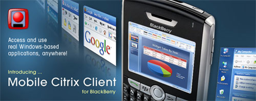 Mobile Citrux Client for BlackBerry