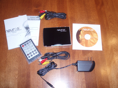 Neuros MPEG-4 Recorder