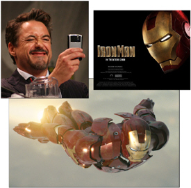 Iron Man's Robert Downey Jr. is a BlackBerry User