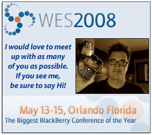 CrackBerry Kevin @ WES 2008
