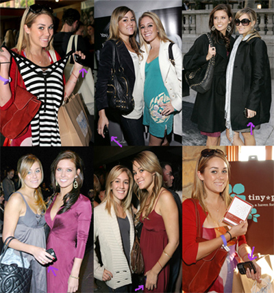 Lauren Conrad BlackBerry Sightings