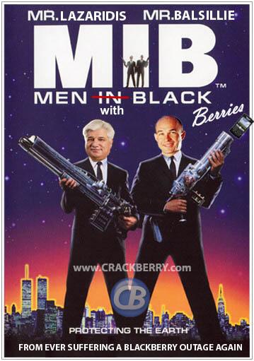 Men With BlackBerries