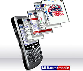 MLB on your BlackBerry