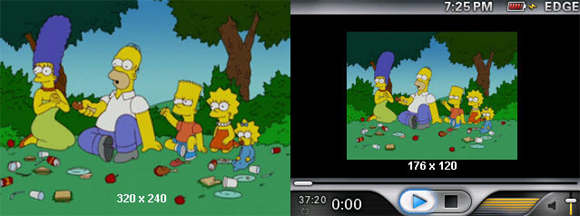 Movies on your BlackBerry