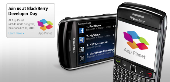BlackBerry Developer Day Contest - Win a Free MWC Event Pass!