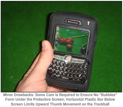 OtterBox for the BlackBerry 8880, 8820, 8830 drawbacks