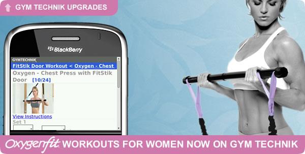 Gym Technik Now Offers Oxygen Workouts for Women