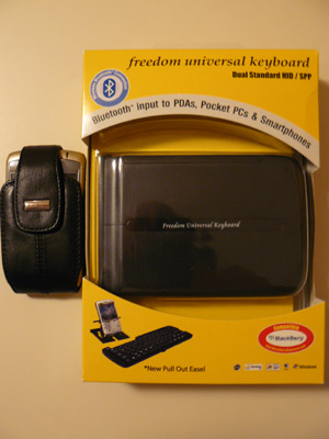 A look at the Freedom Keyboard in the Package!