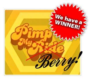 Pimp My Berry Winner
