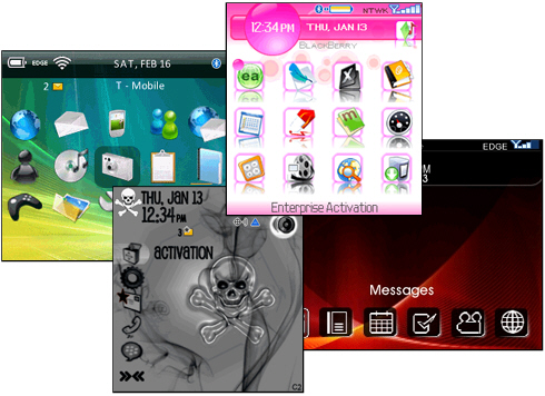 Premium BlackBerry Themes @ ShopCrackBerry.com