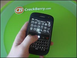 BlackBerry 9000 in Skin - note the 3G logo!