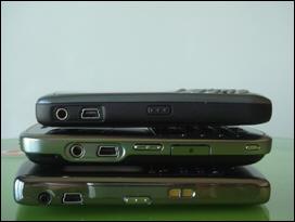BlackBerry 8830, 9000, Curve